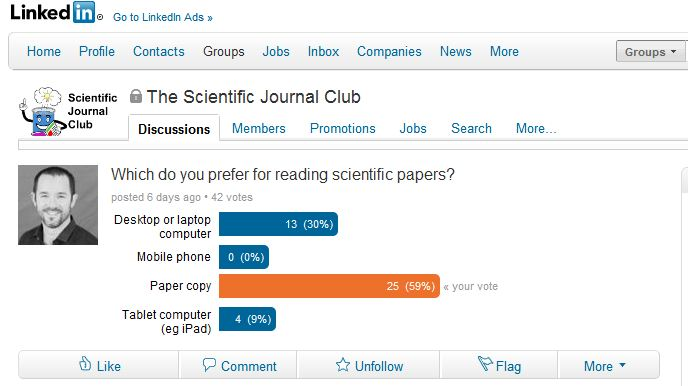 scientific journal club