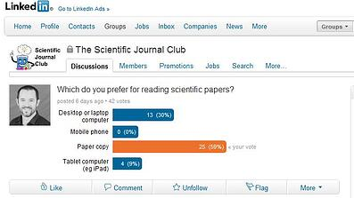 scientific journal club