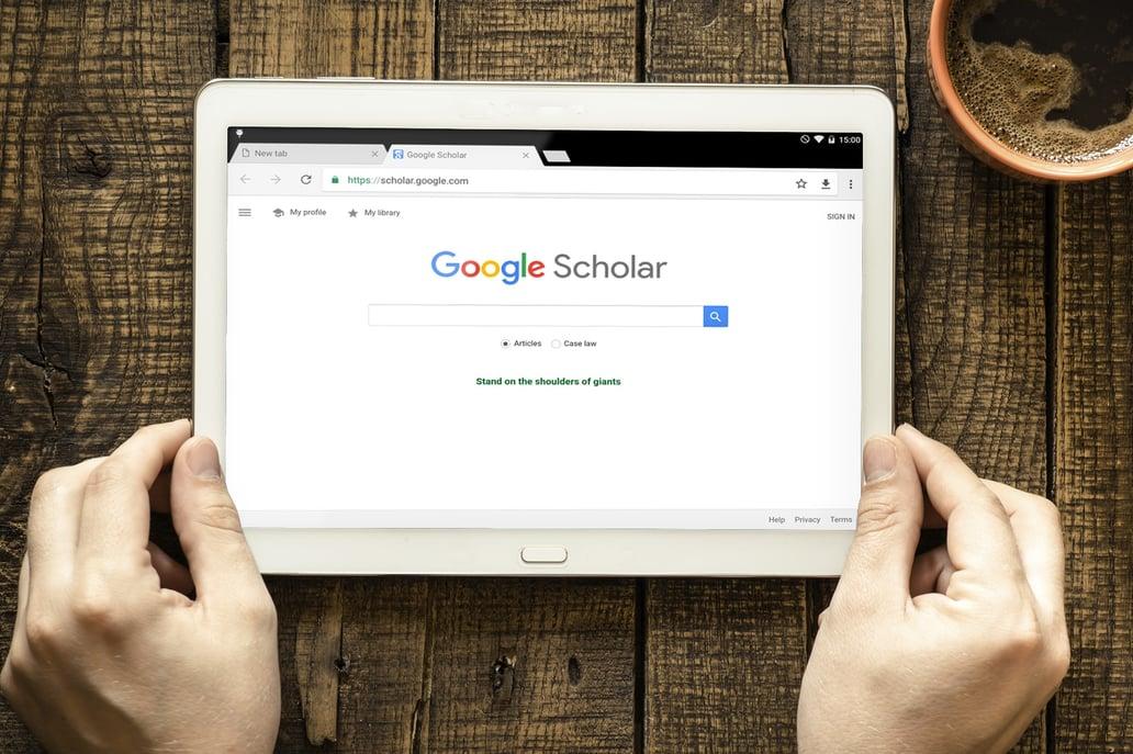 google journal search engine